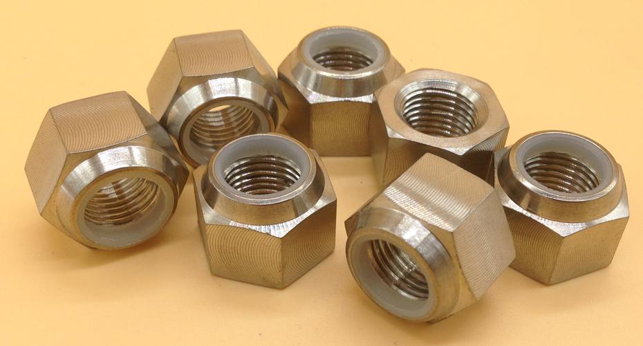 DIN985 Titanium Hex Nylon Lock Nuts