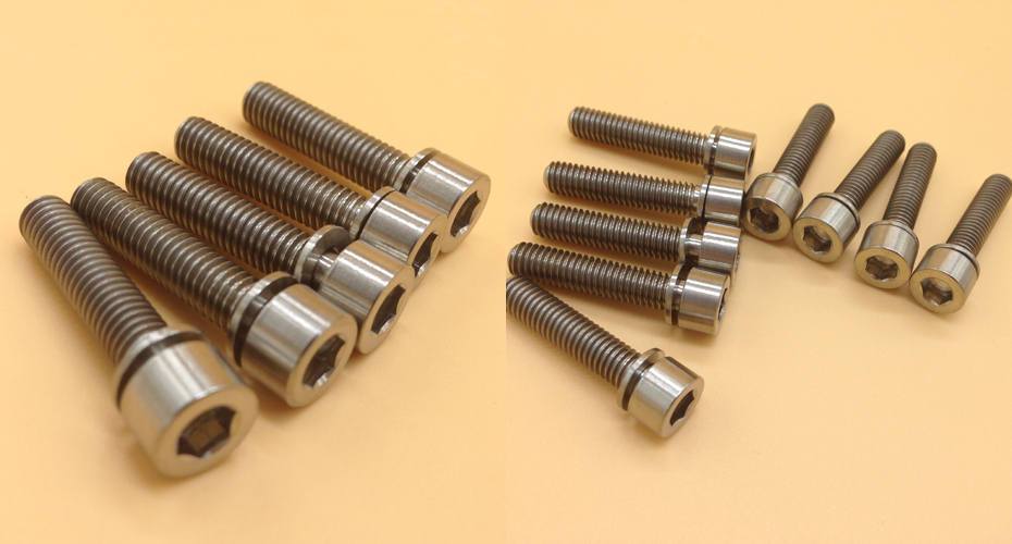 Titanium Allen Head Bolts With Washers