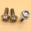 Titanium Hex Flange Head Bolt With Drilled Hole