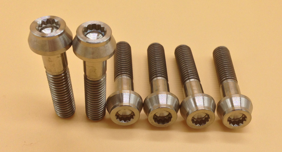 titanium taper special bolts