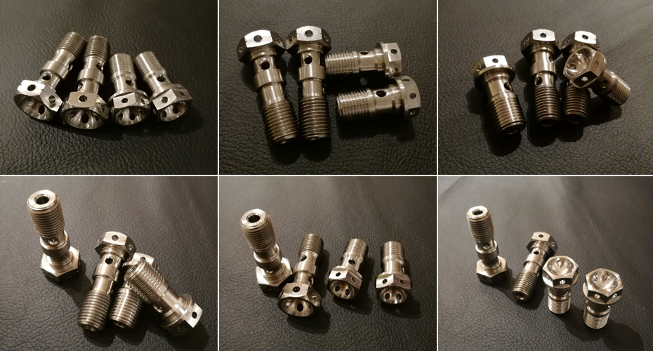 titanium-ti-double-single-brake-bolt-banjo-bolt-m10-x1-00mm-1-25mm-pitch-for-brembo-master-cylinders